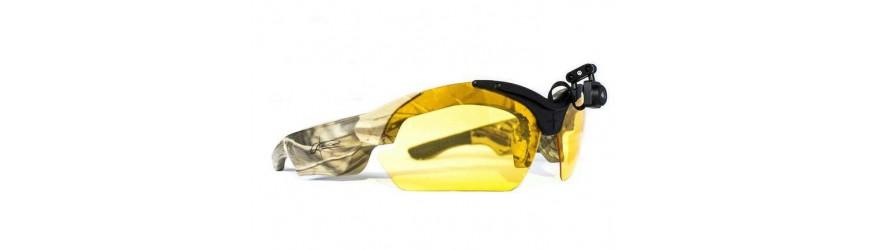 Gafas de protección y con cámara