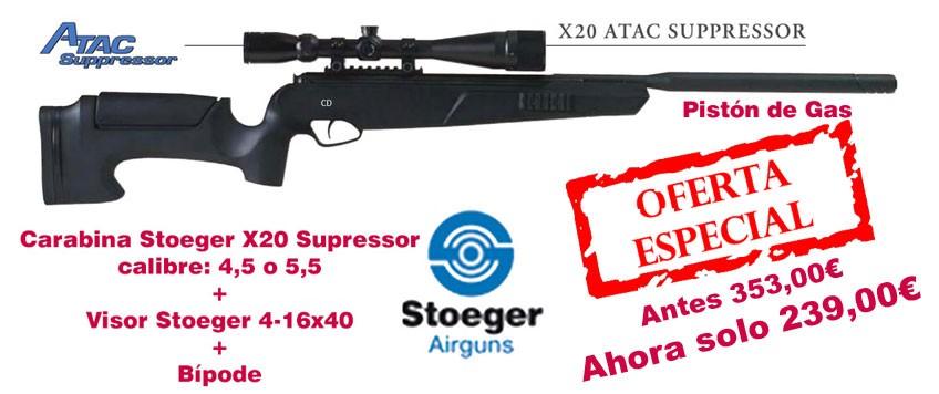 Carabina Stoeger X20 Supressor