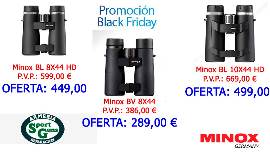 BLACK FRIDAY PRISMATICOS MINOX