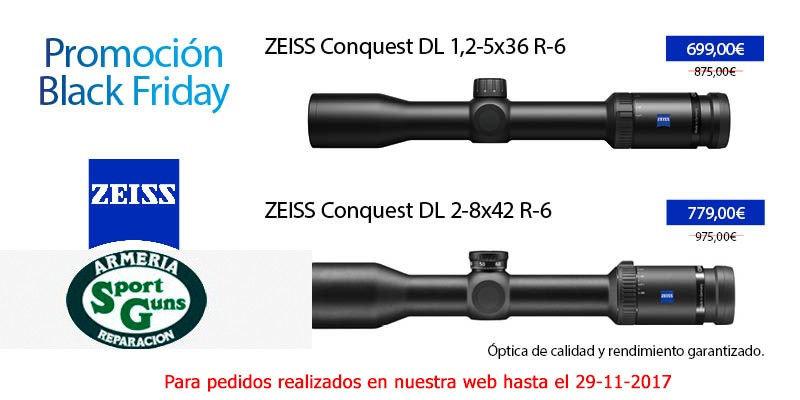BLACK FRIDAY ZEISS CONQUES DL