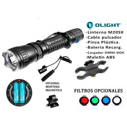 KIT OLIGHT M20 JAVELOT 850 LUM RECARGABLE