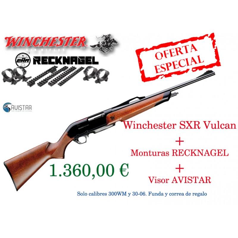 PACK WINCHESTER SXR VULKAN+MONTURAS RECKNAGEL+VISOR AVISTAR ...