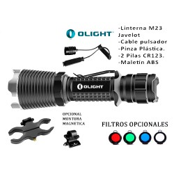 LINTERNA KIT OLIGHT M23 JAVELOT 1020 LUMENS