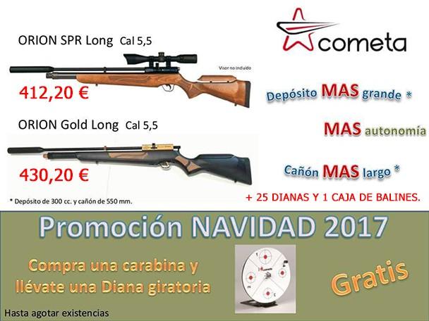 PROMOCION NAVIDAD CARABINAS PCP COMETA